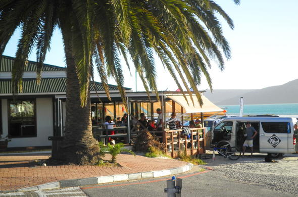 Langebaan restaurant on the beach.