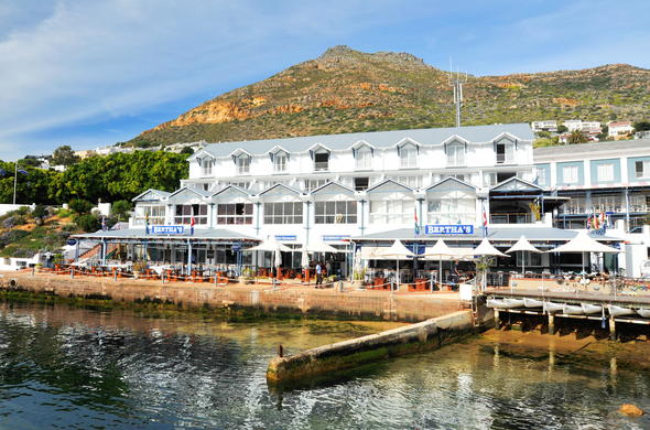 Simons Town Quayside Hotel situated in Simons Town.